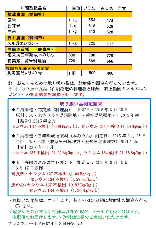 おーぷん・みるめ5月13日(水)注文表2