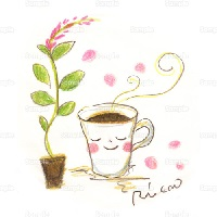 イラストコーヒーカップの