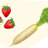 おーぷん・みるめ野菜のイラスト
