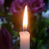 1蝋燭の写真