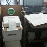 静岡放射能汚染測定室の測定器