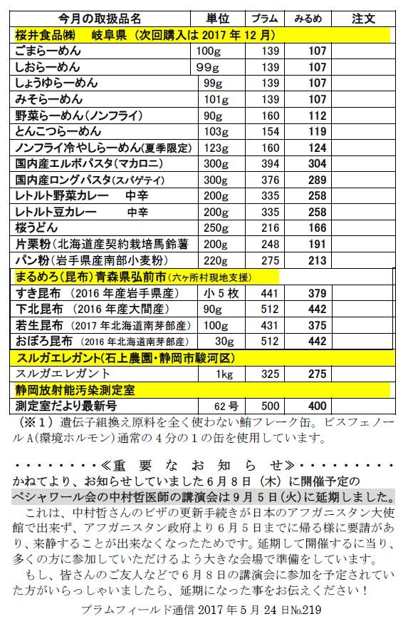 おーぷん・みるめ6月28日注文表2