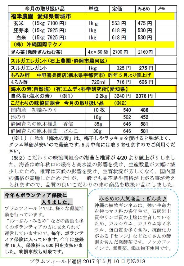 おーぷん・みるめ6月14日の注文表2