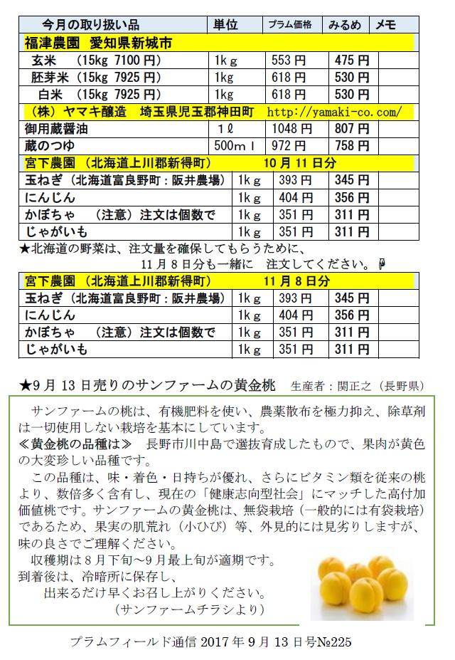 おーぷん・みるめ10月11日注文表2