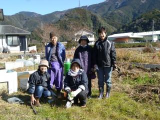 最近の畑のメンバー+小林+伊藤