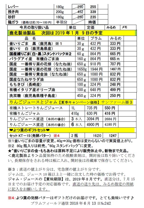 おーぷん・みるめ7月11日の注文表2