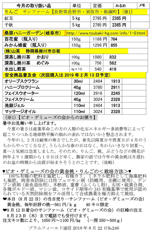 通信8月22日注文表2