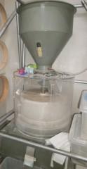 蕎麦の実の選別機